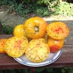 Pineapple Tomato On Plate
