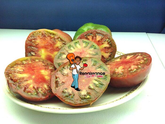 Owen's Purple Tomatoes