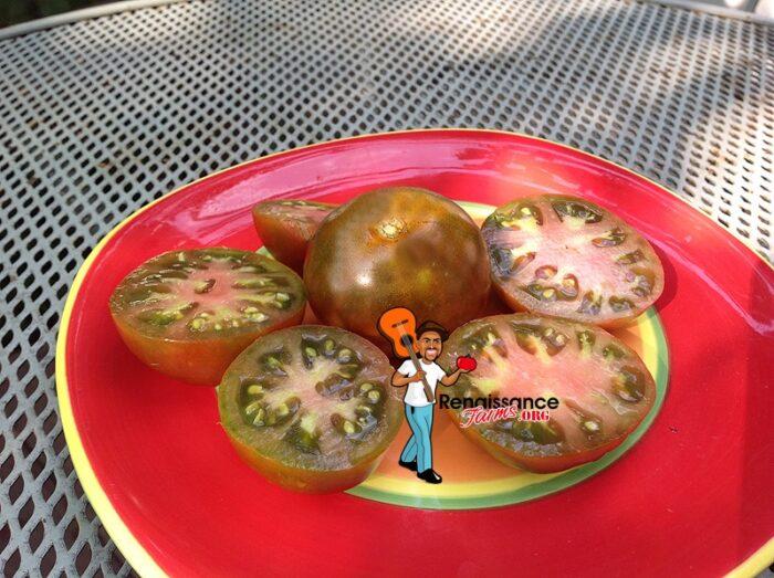 Black Prince Tomato Image