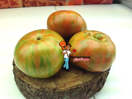 Gold Stripes Tomato Seeds