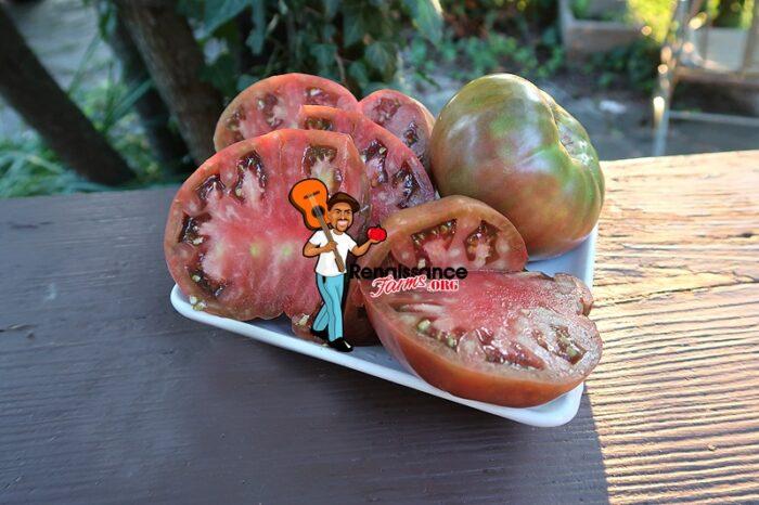 Cherokee Purple Potato Leaf Tomato Image