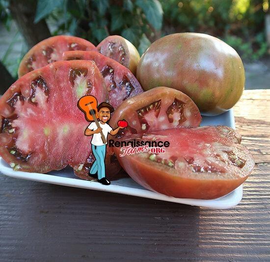 Cherokee Purple Potato Leaf Tomato