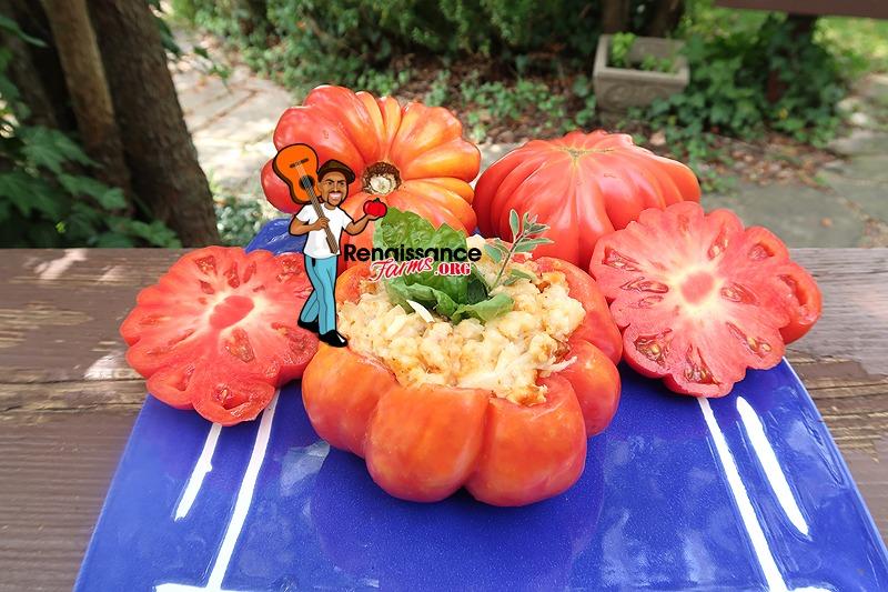 Mushroom Basket Tomato Stuffed