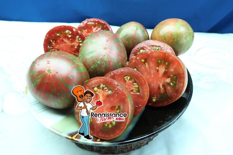 Dark Stripe Sweetheart Tomato