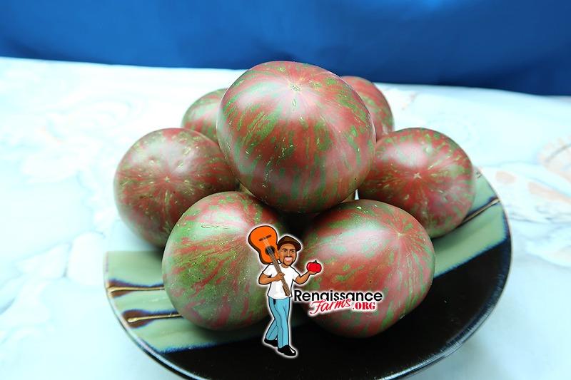 Dark Striped Sweetheart Tomato