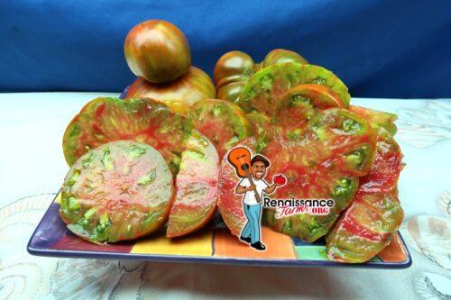 Everett's Rusty Heart Tomato